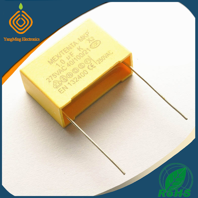 275V Safety capacitors 105K 1UF 1000NF P=27mm