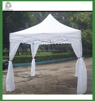 3X3m outdoor advertising aluminum branded pop up gazebo canopy tent