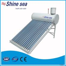 Quality assured galvanized steel solar water system solar evacuated tubes for sale
