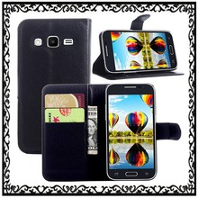 Leather Wallet Stand Flip Case Cover For Samsung Galaxy Core Prime G3608