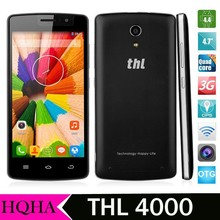 The most powerful battery 4000mAh THL 4000 Battery MTK6582 Quad Core Phone 1.3GHz Android 4.4 1GB+8GB 4.7 Inch QHD IPS Screen 3G