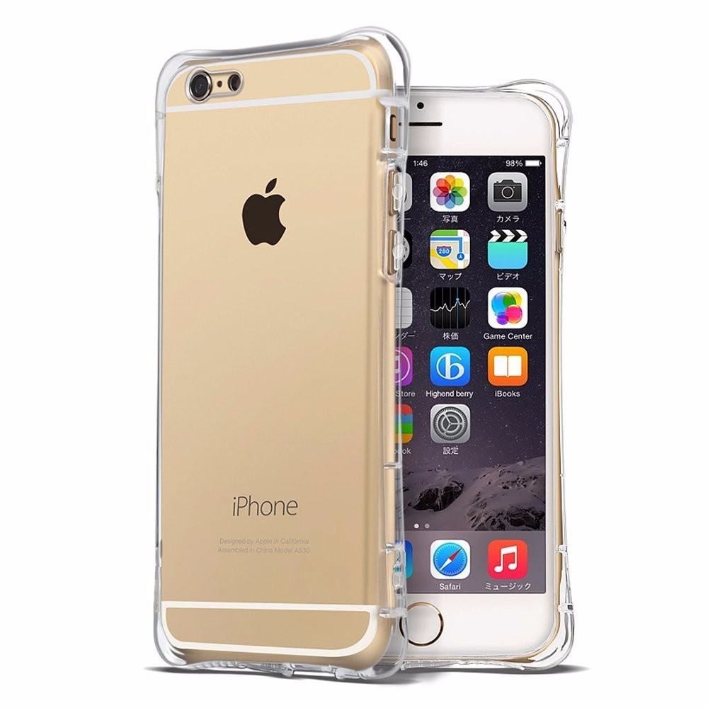 Soft TPU Silicon Case mobile phone accessory For Apple iphone 6 6S Plus