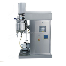 SS316 stainless steel Small lab vacuum emulsifying mixer for cosmetic, shampoo and cream