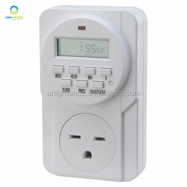 American standard mini weekly programmable digital timer 115V- 60Hz