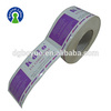 Glossy Lamination Paper Label Plastic Self
