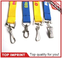 Custom Silk Screen Print Logo Polyester Lanyards
