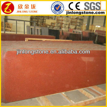 China Red Granite Slab