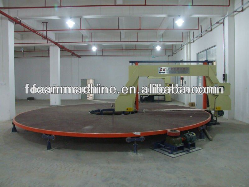 Carrousel Horizontal Sponge Cutting Machine