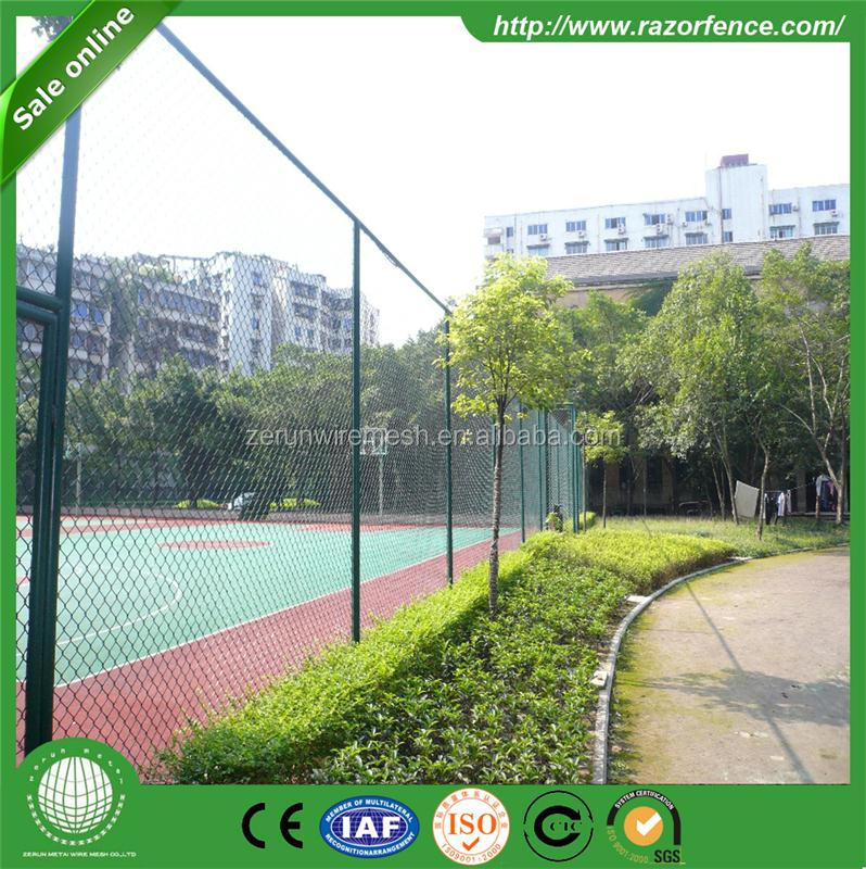 Alibaba express hot sale chain link fencing pricing / chain link fencing price per foot (factory)