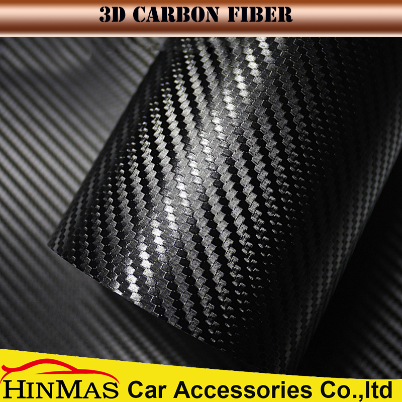 Auto Exterior Carbon fiber to 3D Carbon Fibers Foil for Automobile decoration