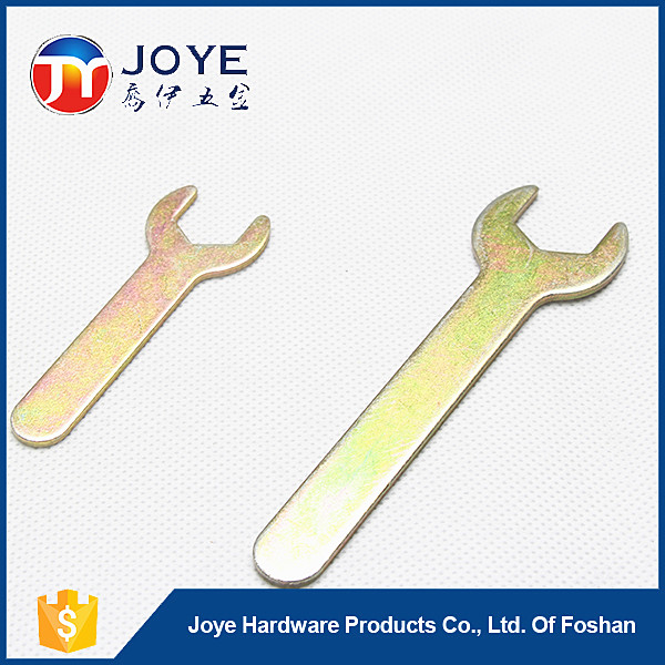One open-end thin wrench stamp steel wrench