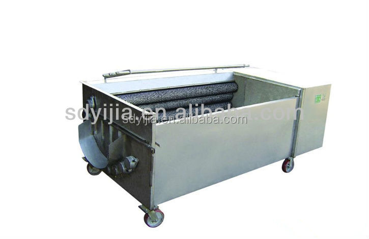Brush roller vegetable washing washer for sale