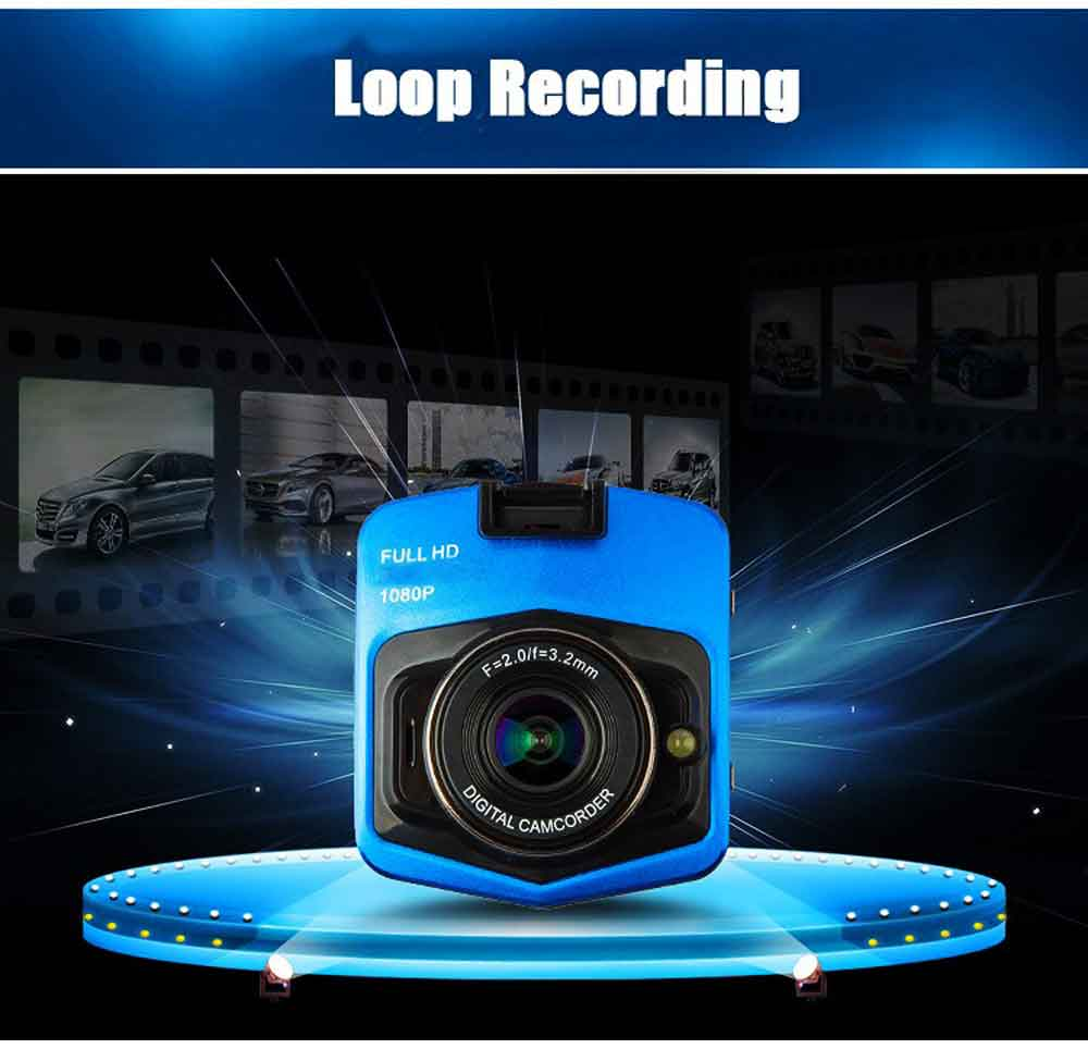Mini Newest Car DVR Camera GT300 Camcorder <strong>1080P</strong> Full HD Video Registrator Parking Recorder <strong>G</strong>-sensor Night Vision Dash Cam