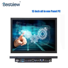 Factory new industrial 15 Inch all in one touch panel PC