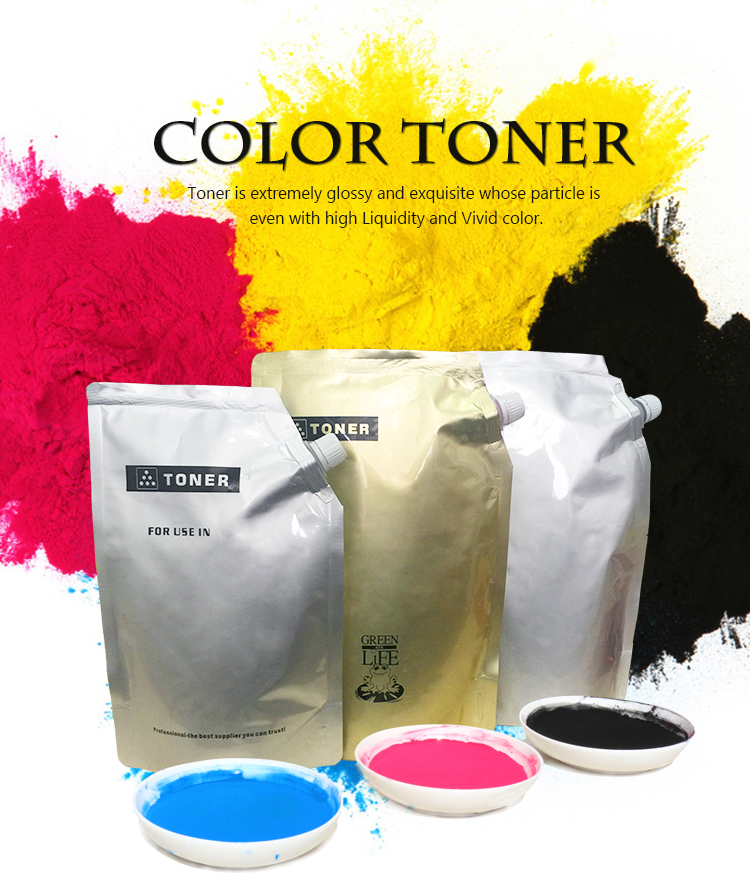 High quality color toner for use in C650 compatible with MINOLTA BIZHUB