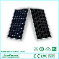 Chinese brand EverExceed High Quality Monocrystalline Solar Panel 305W and 156*156