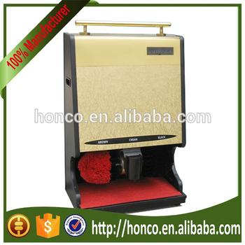 HIGH QUALITY PUBLIC USE SHOE POLISHING CLEANING SHINING MACHINE