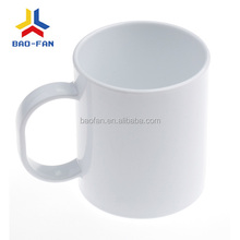11OZ White unbreakable sublimation polymer mug,sublimation cup
