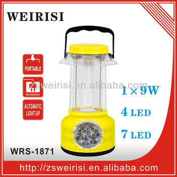 Rechargeable Portable Light with LED Torch (WRS-1871)