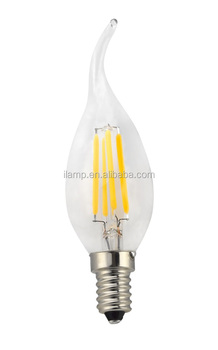ul led filament bulb C35T 4w on alibaba express of china suppliers , vintage edison antique led lights filamnent 3000k