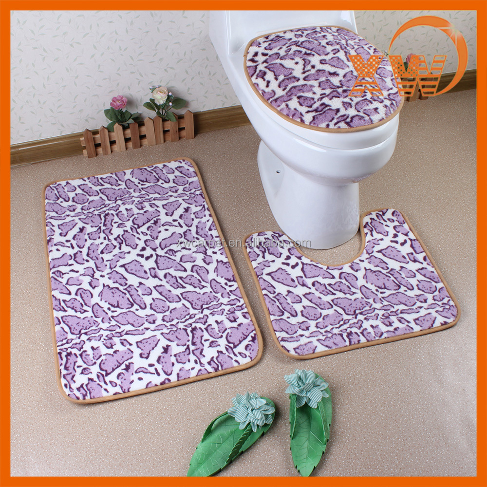 New fancy bathroom fashion accessories non slip bath gift set