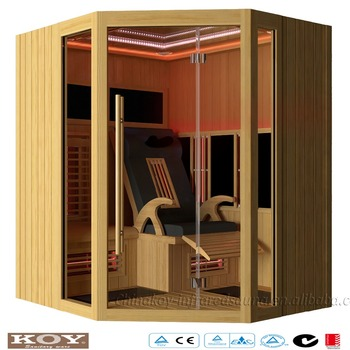 2016 Luxury Infrared Sauna room with massage chair 23-L4