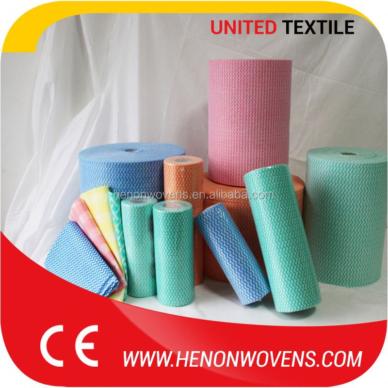 Original Factory Quality Pet / Polyester / Viscose Spunlalce Printed Nonwoven