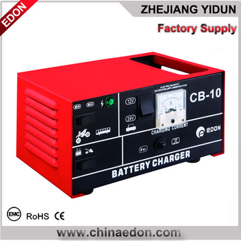 PORTABLE CAR BATTERY CHARGER IN NEW DESIGN CB