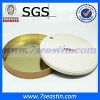 Aluminum tin can for cookie packaging/round cookie tin can