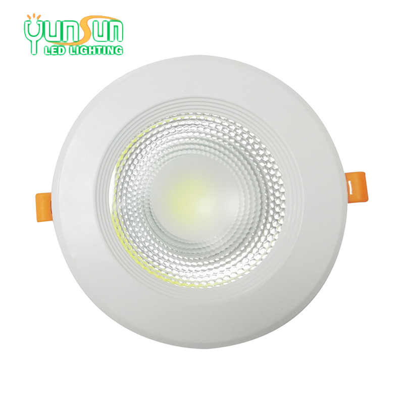 thin 5W 80mm dimension cob led recessed downlight