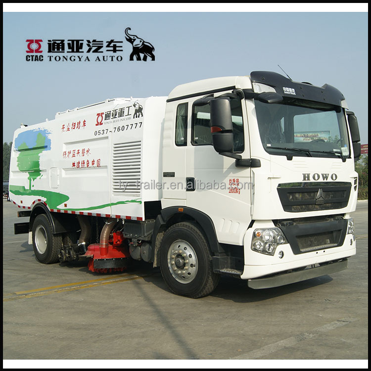 China Hot Sales Sinotruck 8CBM Cleaning Street/Road Sweeper Truck