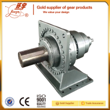 High torque planetary gearbox with air-oil cooler