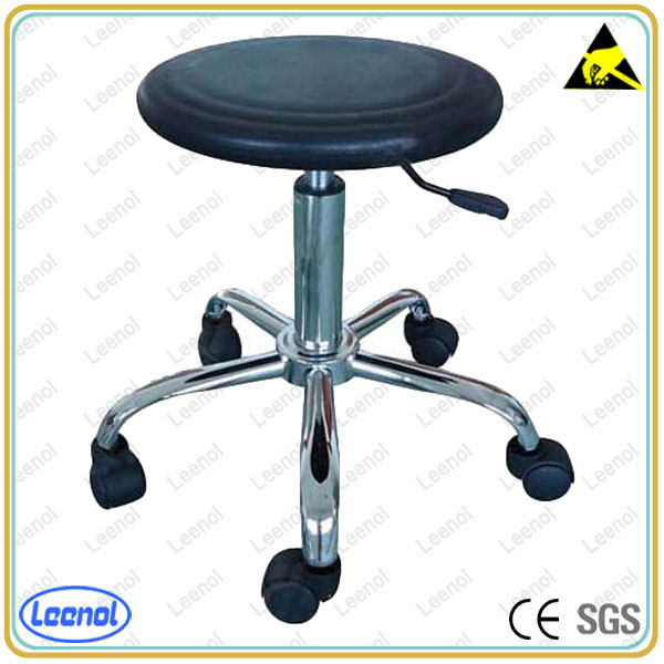 Round chair with height adjustable