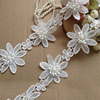 Venice lace trim vintage floral lace fabric trim flower beaded lace trimming