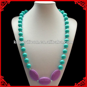 New Designs Food Grade Silicone Beads for Teething Jewelry Manufacturer China