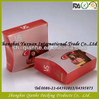 PET plastic food packaging box supply in China