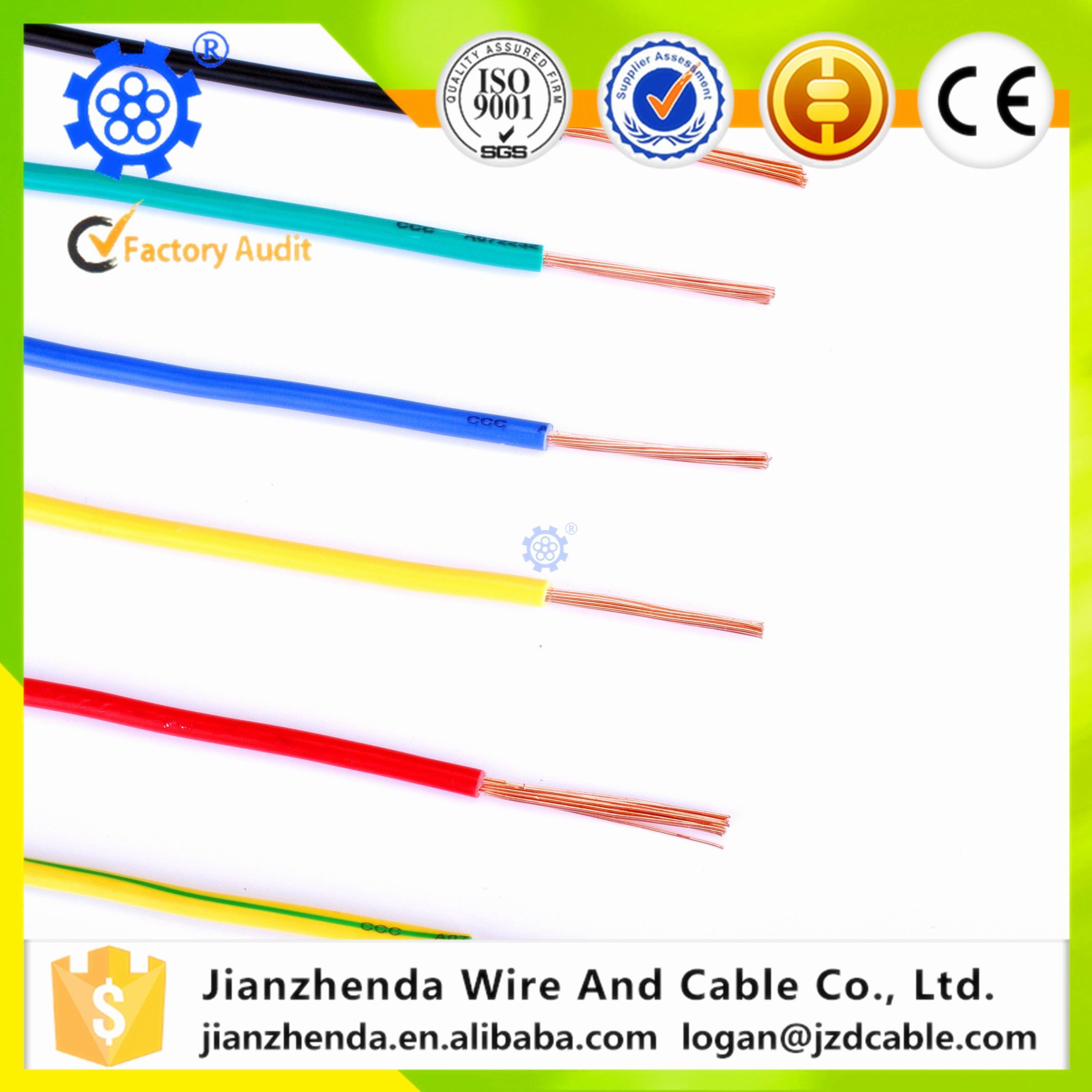 electrical wire insulation types with factory price