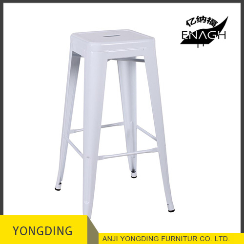 Wholesale 2017 new design Industrial Bar stool antique metal stool with metal/wood/PVC seat