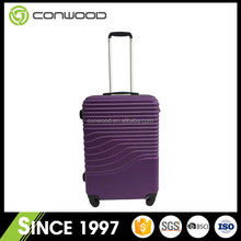 Durable in use new design high quality PET travel trolley luggage bags