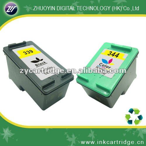 replacement inkjet cartridge for hp339/344(C8767EE;9363EE)