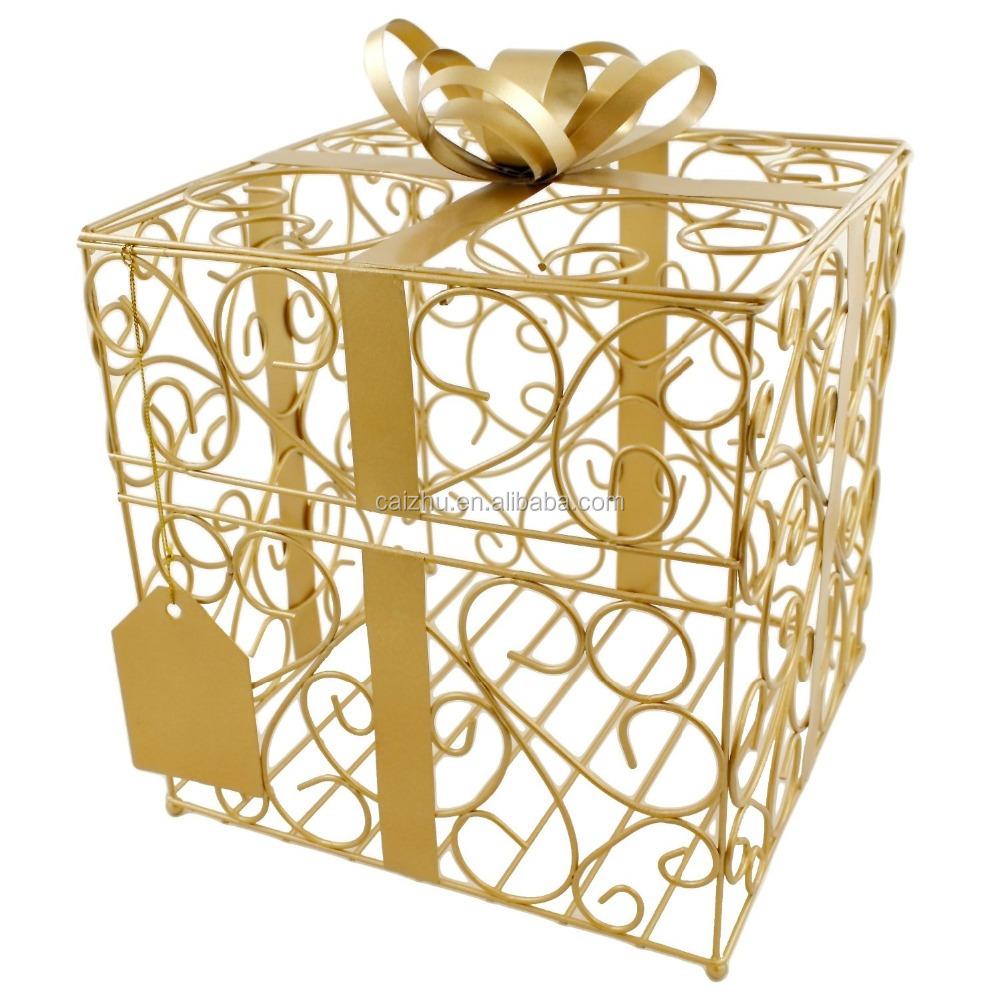 Gift Card Holder BasketBuy Metal Wire Gift Card Holder,Gift Card ...