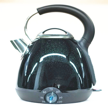 Stainless Steel Electric Kettle 1.7L Mechanical Tea Kettle
