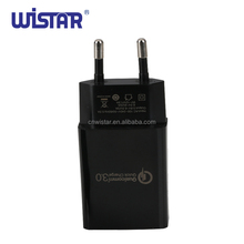 USB Charger Quick Charging qc 3.0 24W Rapid Travel Wall Charger Adapter EU Plug