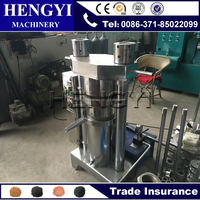 Fully automatic mustard seed hydraulic oil press machine