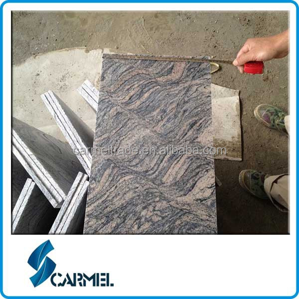 China Grey Sand Wave Granite Tiles 100x100