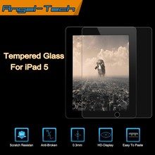 0.3mm tempered glass screen protector for iPad