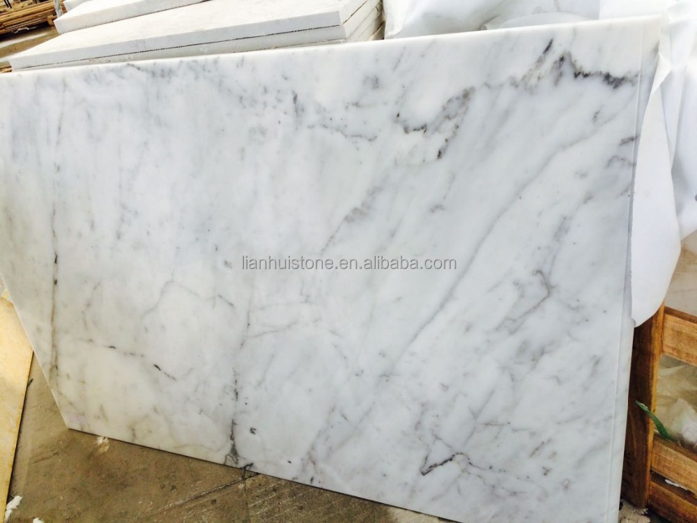 cut to size carrara white marble slab, white stone marble top, imported white marble top slab