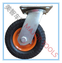 6 inch small pneumatic caster wheel