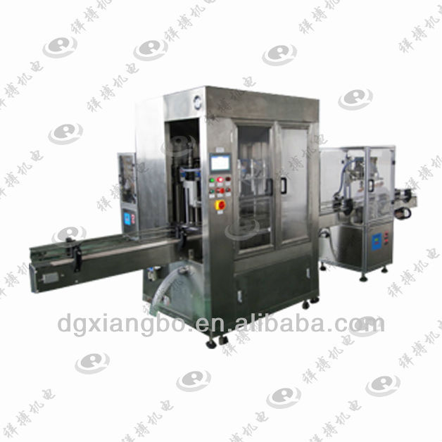 XBGZJ-6200 Olive Oil Filling Machine,Soy Source Filling 3 In 1 Machine