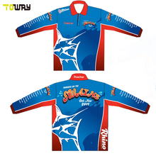 long sleeve dye sublimation wholesale fishing shirt
